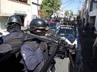 7 detenidos y varias armas son decomisadas en Edomex